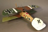 JJD ACE-43 KNIGHTS OF THE SKIES Albatros D.III (OAW), Jasta 2 Boelke, June 1917, Ltn. Werner Voss