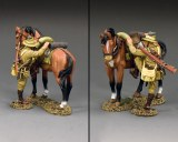 AL108 ALH Trooper Mounting Up (Brown Horse Version)