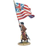 FL AWI118 US 12th Continental Regt Standard Bearer