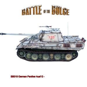 BB019 German Panther Ausf G - SS Leibstandarte