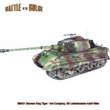 FL BB031 German King Tiger Tank - 3rd Compnay