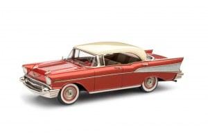 "BM BRK221x 1957 Chevrolet Bel-Air Four-Door Hardtop ""special colour"""" with luxury box"