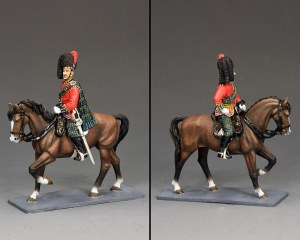 CE029 Mounted Black Watch Officer