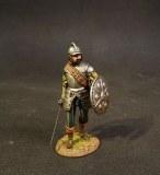 JJD CQ-008 Spanish Sword and Buckler Man