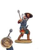 CRU032 Mamluk Warrior with Mace and Embossed Shield