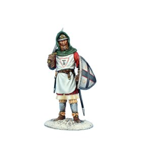 CRU115 Teutonic Soldier with Sword and Shield
