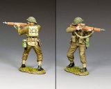 DD354(G) Standing Firing' w/Grass base