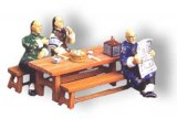 HK067M THE TEA HOUSE SET RETIRED