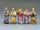 HK106M 5 Lady Musicians (matt) RETIRE