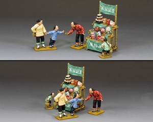 HK300M The Street Toy Seller (Matt) PRE COMMANDE
