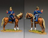 FW242 Mounted Prussian Line Infantry Officer PRE-COMMANDE LIVRAISON FIN AVRIL