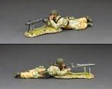 LW074 Fallschirmjager MG42 Machine Gunner