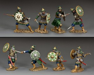 """MK201 The Fighting Saracens"""" Set of four figures"""