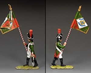 NA458 Subaltern w/Regimental Colour