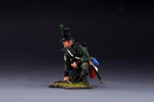 95th Rifles SGT Shouting Whit Hat