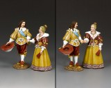 PNM077 King Louis XIII & Queen Anne of France