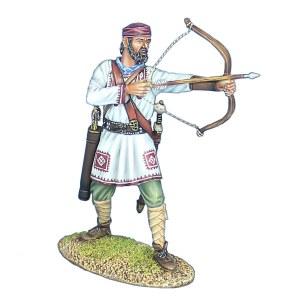 ROM244 Late Roman Archer Standing Firing PRE ORDER