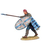 FL ROM230 Dacian Warrior with Spear and Shield