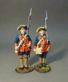 JJD RRBNJ-001 -The New Jersey Provincial Regiment, 2 Line Infantry At Attention