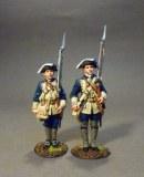 JJD RRBSC-002 -The South Carolina Provincial Regiment, 2 Line Infantry At Attention.