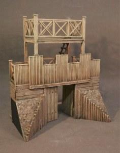 JJD RRFORT-001 Turf and Timber Roman Fort, Gateway PRE ORDER