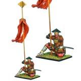 FL SAM033 Samurai Standard Bearer - Takeda Clan PRE ORDER
