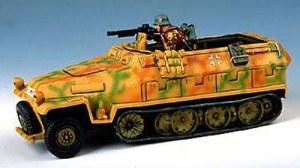 WS013 Hanomag Halftrack with crouching machine gunner RETIRE