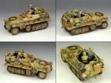 WS121 Sd.kfz.250/1 Leichter Schutzenpanzer wagen RETIRE SANS BOITE
